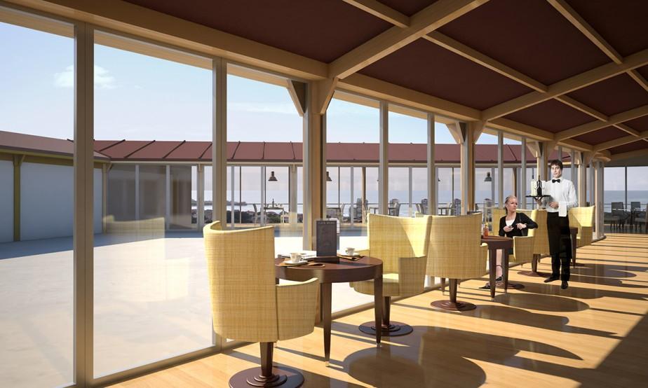 Terraza Restaurante Casa Falo (Avilés) Interior 02