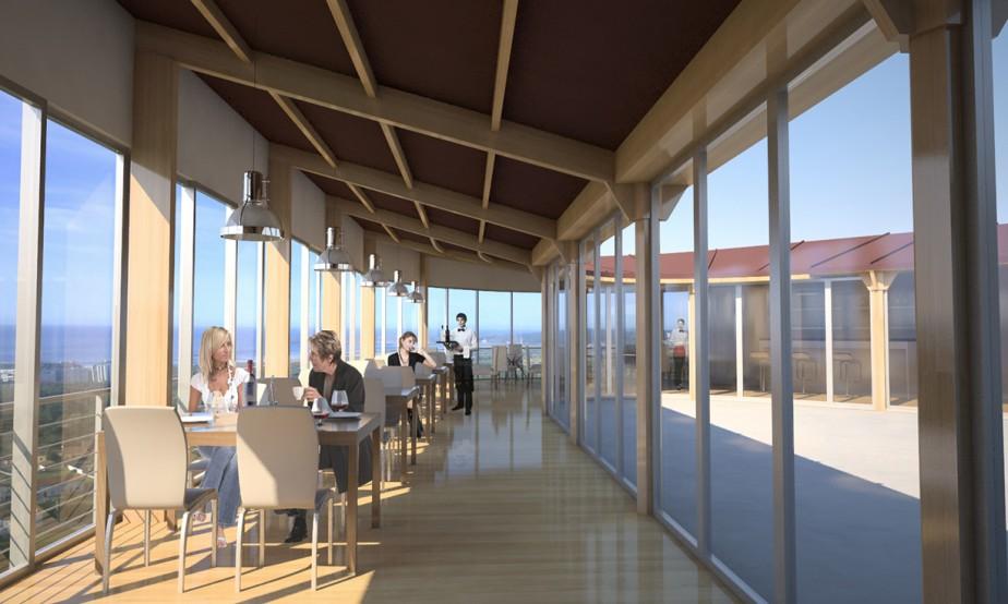 Terraza Restaurante Casa Falo (Avilés) Interior 01